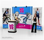 Tradeshow Curved Pop-up Display