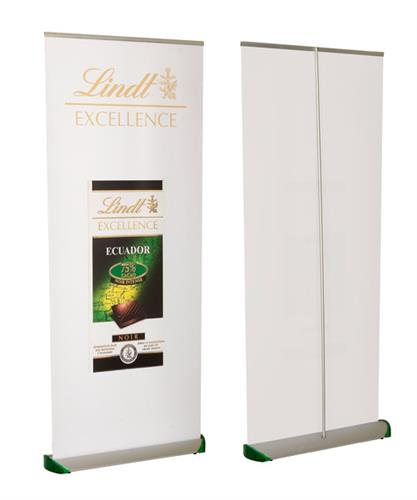 Premium retractable roll up banners retractable banner for Stand roll up