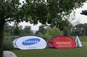 Oval Pop Out Banners