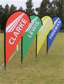 Portable flying banners