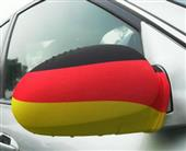 National car mirror cover