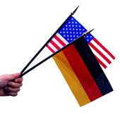 Event hand stick flags
