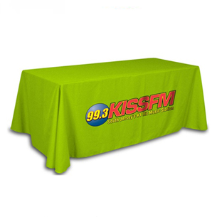 8 feet table cloth 8 feet table cover 8 ft logo table cover printed branded table runner. Black Bedroom Furniture Sets. Home Design Ideas