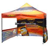Restaurant folding tent