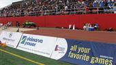 Sporting vinyl banner