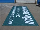 Heavy Knit Dye Sublimation banner