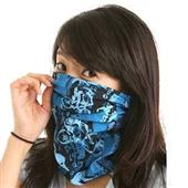Multifunctional seamless scarf
